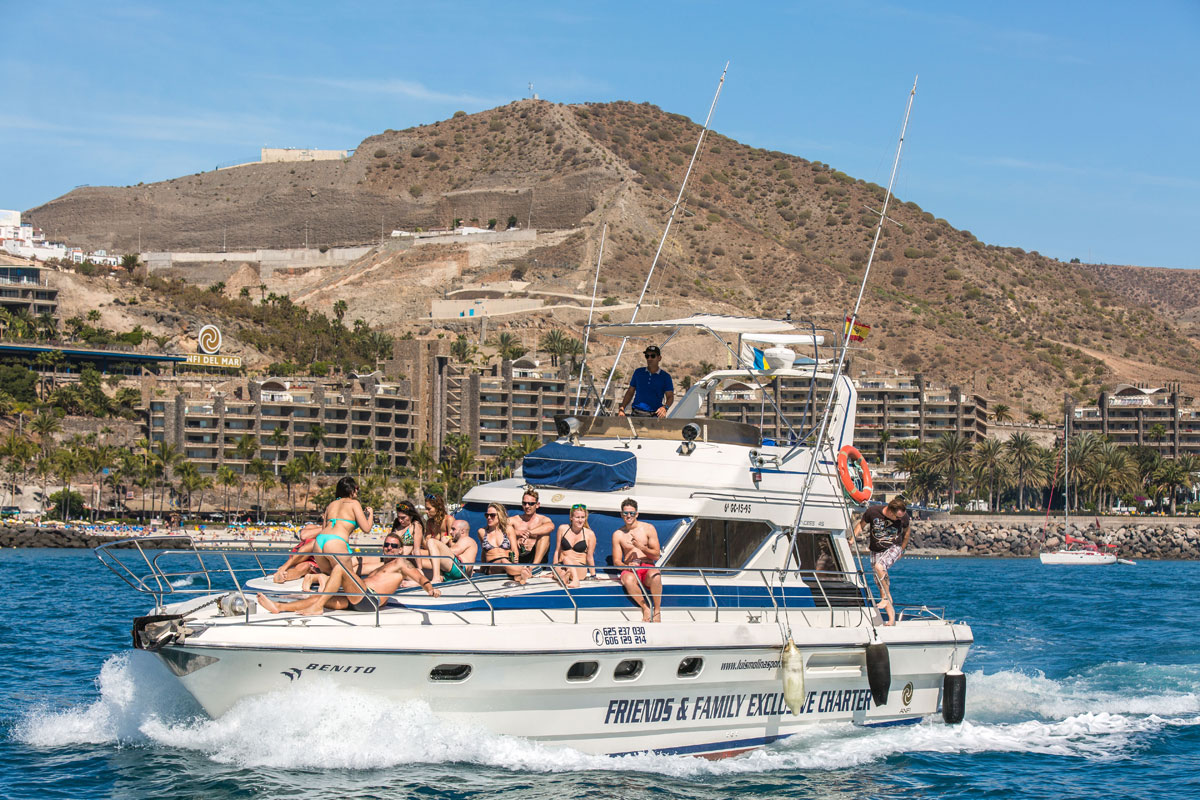 private yacht charter, Anfi Water Sports Luis Molina - Benito Cruiser - Motor Boat