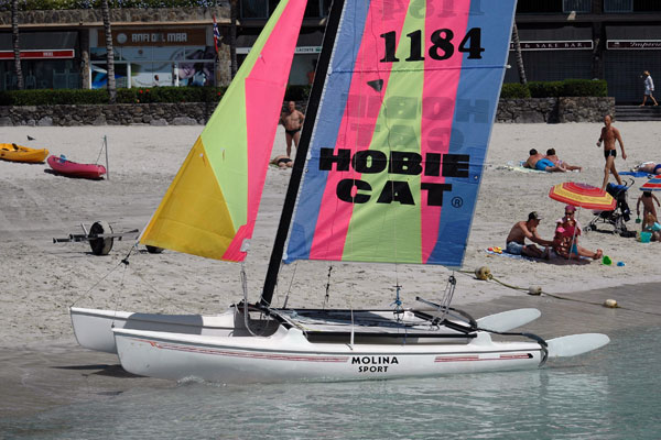 Anfi del Mar Water Sports Luis Molina - Hobiecat Sailing catamaran
