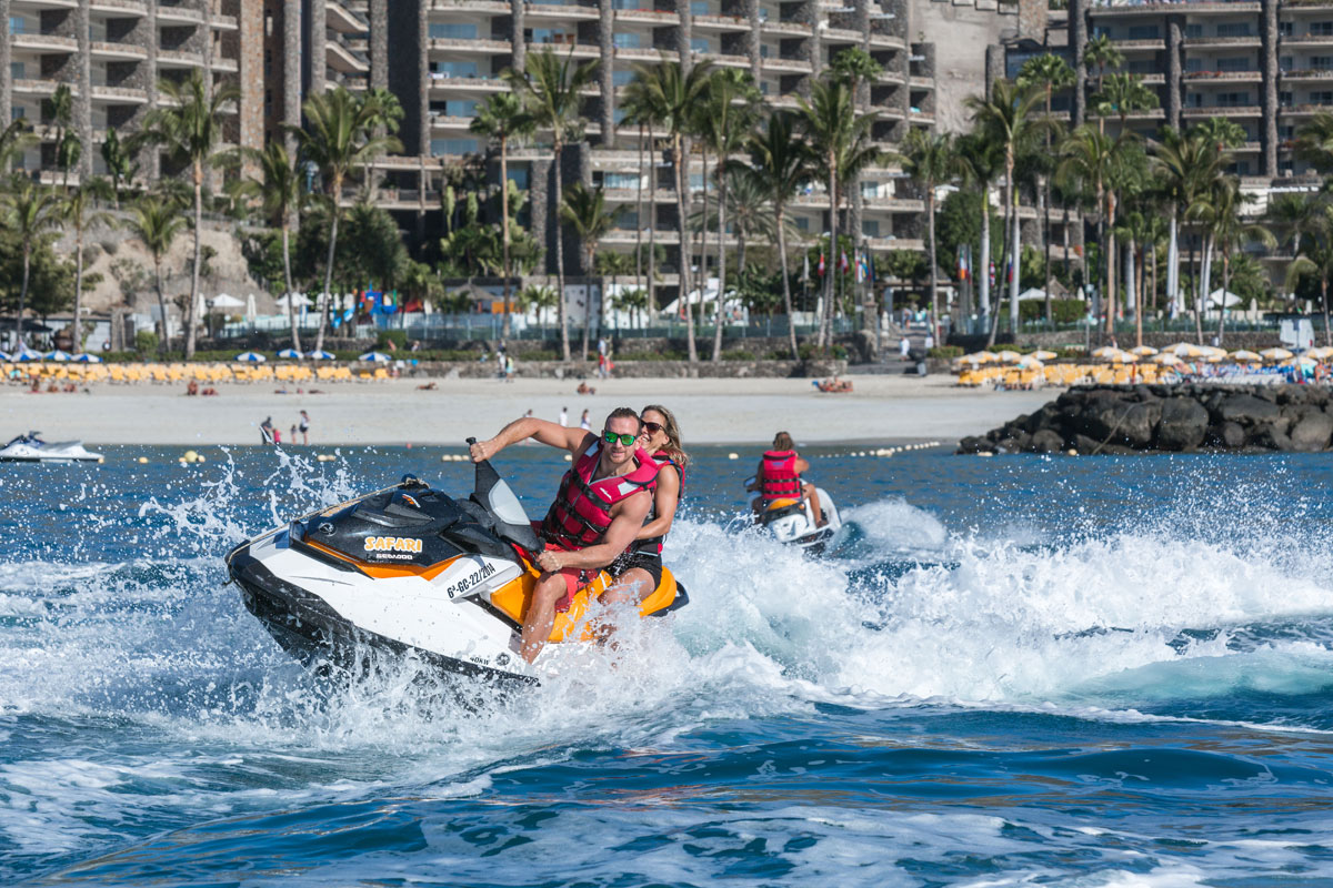 Jetski Rides Are The Most Por Activity Of All Water Sports We Offer Jetbikes And Jetskis For One Or More Persons Riders Wear Life Jackets