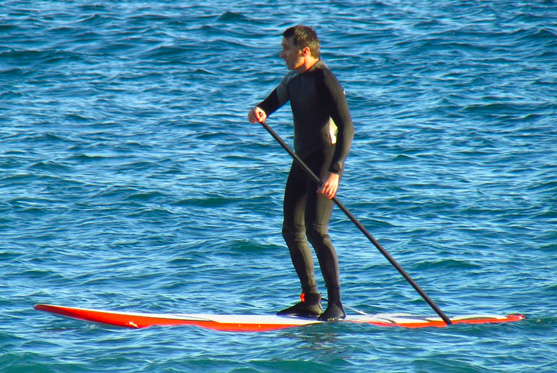 Anfi Water Sports Luis Molina - Pedal SUP surf