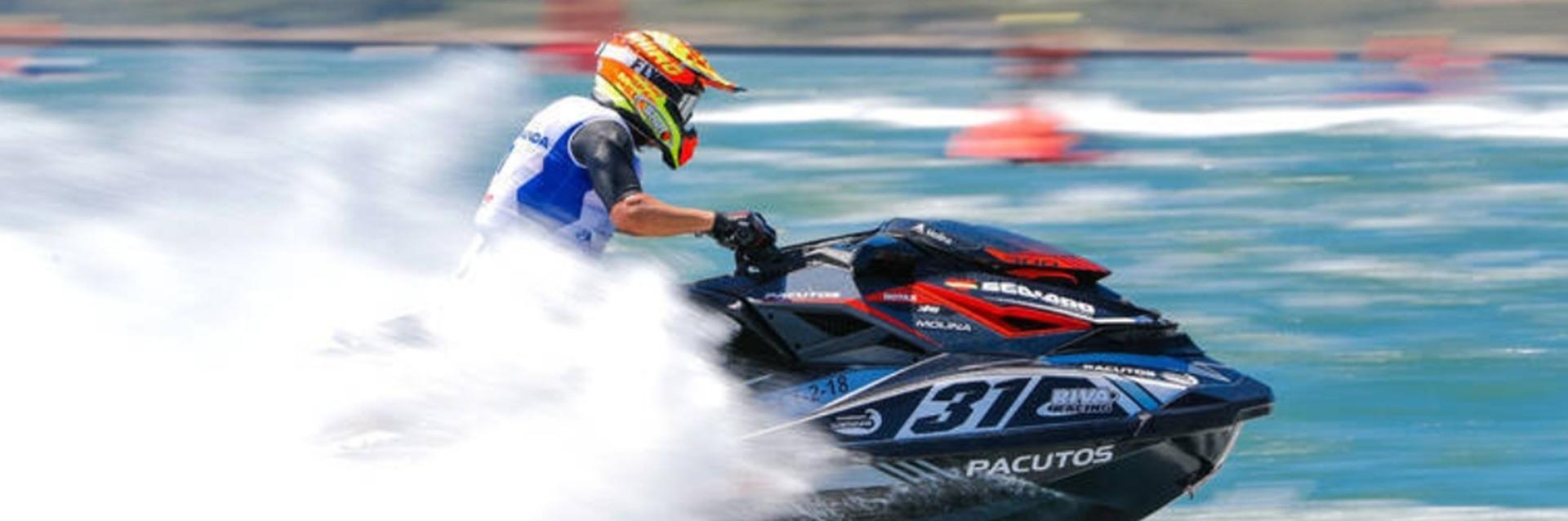 Alejandro Molina - Campéon Multiple de Moto de Agua